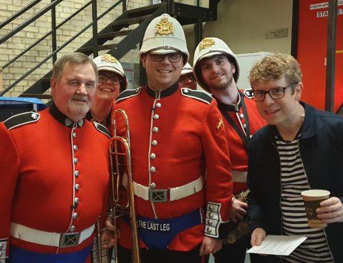 Military Band – The Last Leg Talk Show
